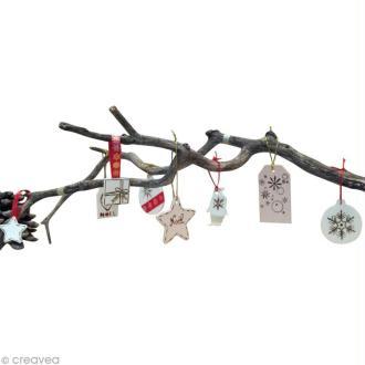 DIY suspensions de Noël au pyrograveur