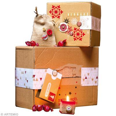 diy paquet cadeau de no l recycl id es conseils et tuto paquet cadeau. Black Bedroom Furniture Sets. Home Design Ideas