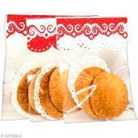 Packaging alimentaire original pour biscuits de Noël