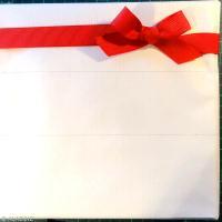 Emballage cadeau de no l rouge et blanc id es conseils - Papier cadeau personnalise ...