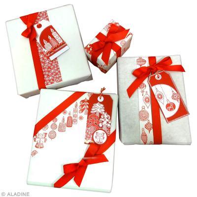 Tuto paquet cadeau noel