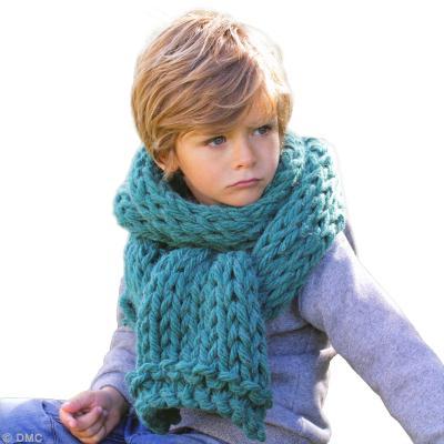 6148ec63e74 DIY écharpe enfant - Idées conseils et tuto Crochet et tricot