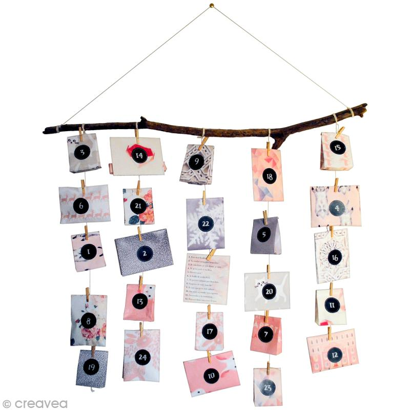 calendrier de l 39 avent personnalis id es conseils et tuto calendrier de l 39 avent. Black Bedroom Furniture Sets. Home Design Ideas