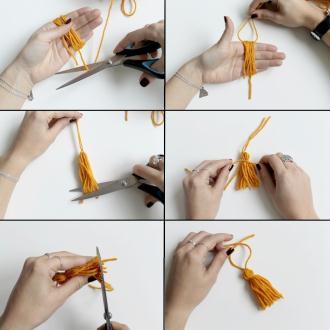 1. Fabriquer ses pompons en laine