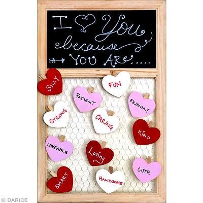 6c81873ae7e ... Idée cadeau DIY Saint Valentin   une ardoise à coeurs