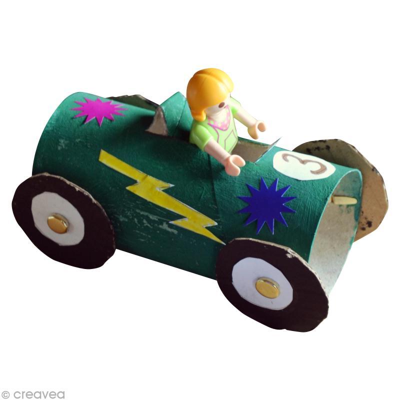 diy enfant r cup voiture de course avec rouleau en carton id es conseils et tuto activit. Black Bedroom Furniture Sets. Home Design Ideas