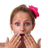 DIY bijou facile : Bague en fil aluminium et strass