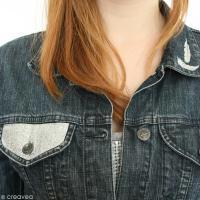 DIY customisation veste en jean