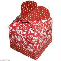 Tuto boîte cadeau coeur
