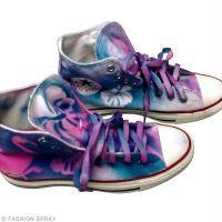 DIY custo chaussures