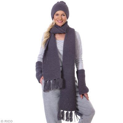 5b3d3885ae63 DIY Tricot   Réaliser un bonnet, une écharpe et des mitaines - Idées ...