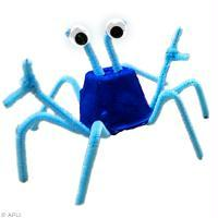 DIY Enfant facile : Crabe en fil chenille