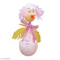 Tuto marionnette poussin spéciale Pâques