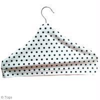 DIY Couture facile : Housse de cintre en tissu