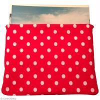 DIY Pochette en tissu à pois