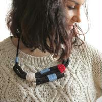 Tuto : collier en corde DIY