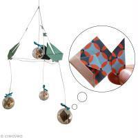 Tuto mobile origami pour bébé 1/3 : le poisson