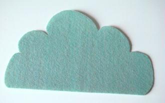 diy tapis de souris nuage id es conseils et tuto feutrine. Black Bedroom Furniture Sets. Home Design Ideas