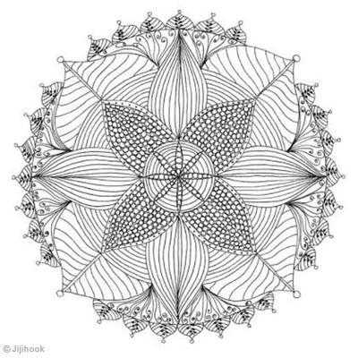 Mandala à colorier - Idées conseils et tuto Coloriage