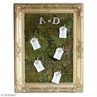 Plan de table de mariage botanique original