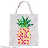 DIY Tote bag Ananas