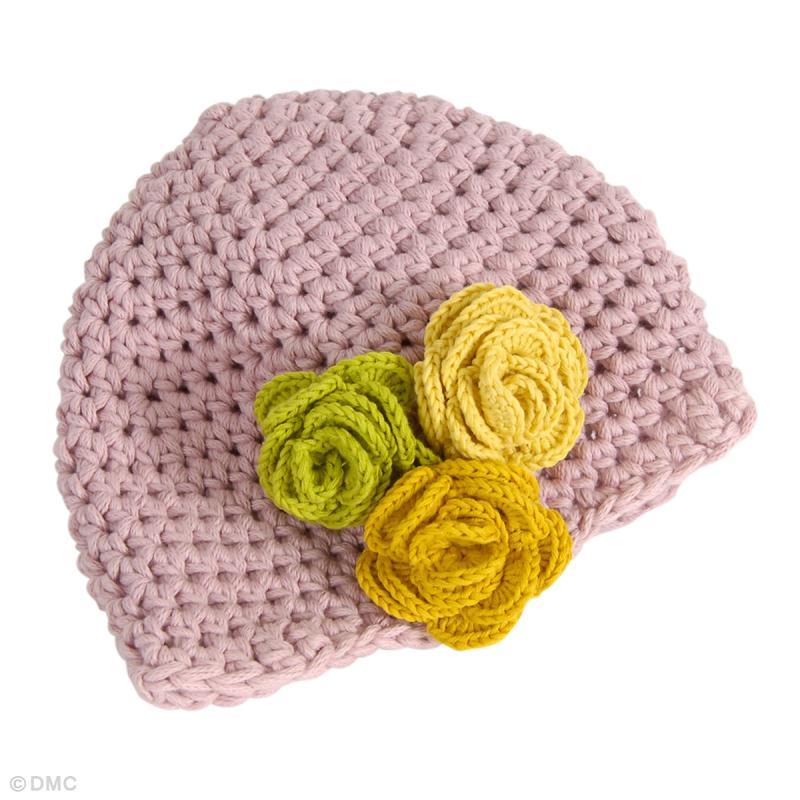 73c9bb04f776 Bonnet bébé en Natura XL - Idées conseils et tuto Crochet et tricot