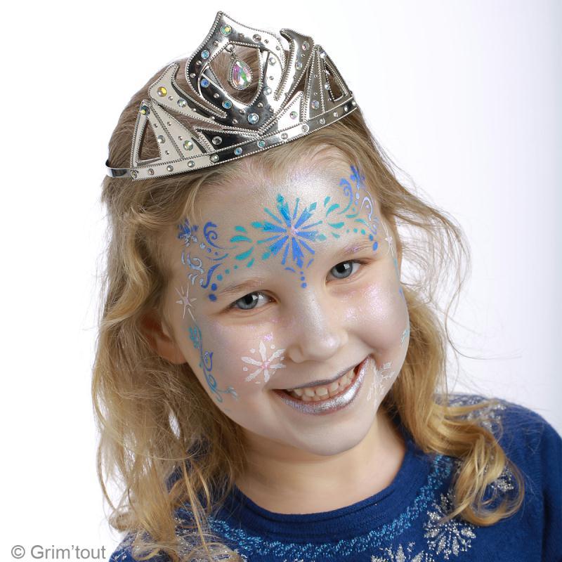 Diy maquillage reine des neiges id es conseils et tuto - Modele maquillage princesse ...