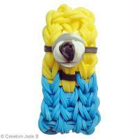 DIY Minion en Rainbow Loom