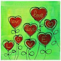 DIY Peinture Acrylcolor LOVE