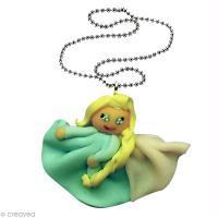 Réaliser la Princesse Elsa en Fimo
