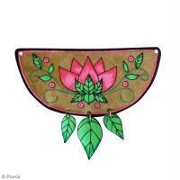 DIY bijou : Collier fleuri en plastique fou