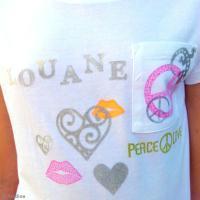 DIY Customiser des tee-shirts avec de l'encre textile