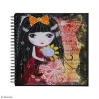Art journal Mixed Media Tokyo Girl