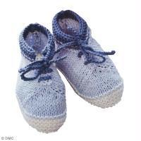 DIY Chaussons mignons au crochet pour bébé