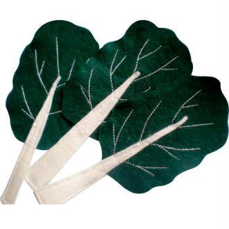 Légume en feutrine : les blettes