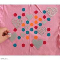 5. Customisation - stickers textile