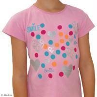 DIY customisation tee-shirt fille