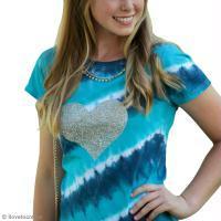 DIY tee-shirt Tie & Dye