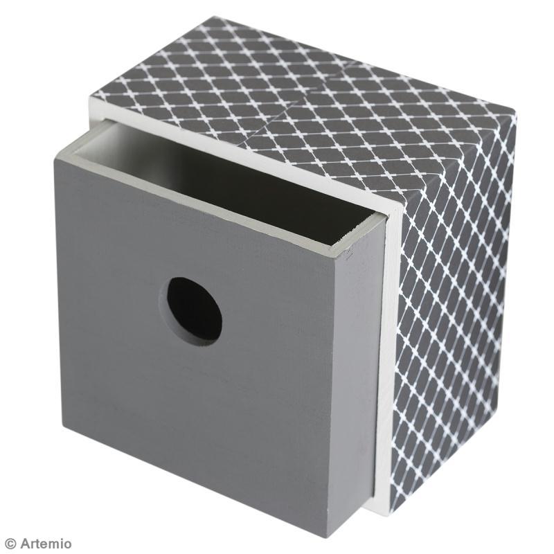 diy boites tiroirs artemio fabriquer soi m me id es conseils et tuto d coration. Black Bedroom Furniture Sets. Home Design Ideas