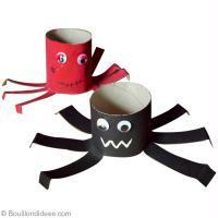 DIY Halloween : Araignée en carton récup
