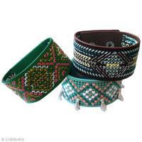 DIY Bracelet brodé