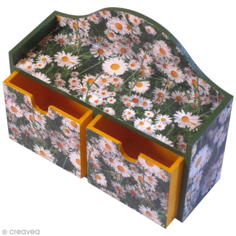 Diy serviettage petite commode d cor e id es conseils et tuto serviette en papier - Site de bricolage pour adulte ...