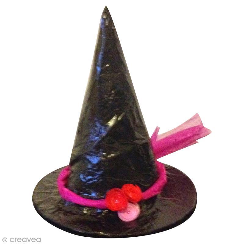 Connu Tuto chapeau de sorcière et sorcier - Idées conseils et tuto Halloween PE01