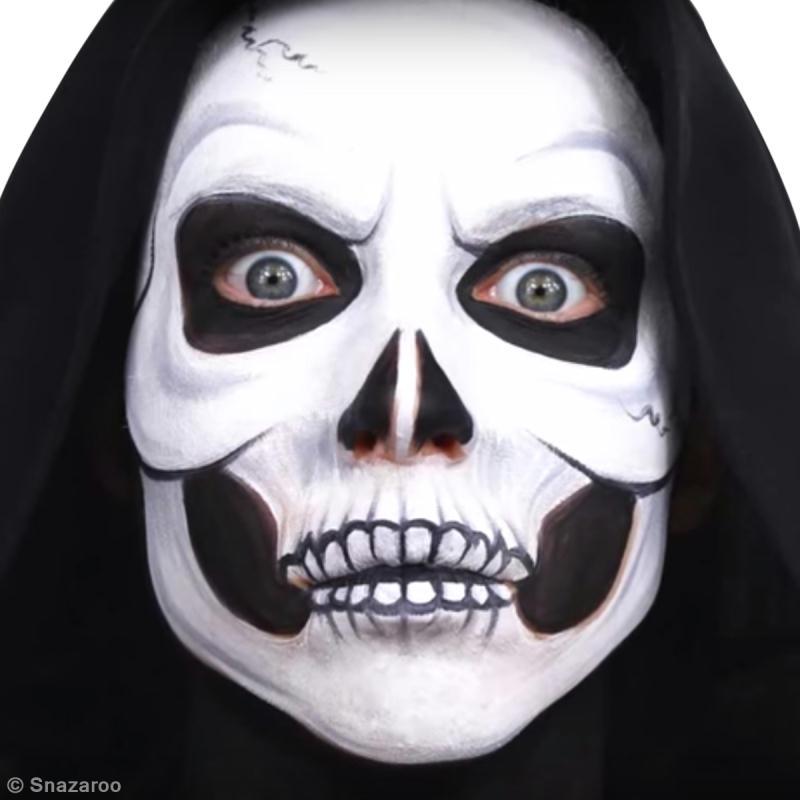 Maquillage Facile Tete De Mort Halloween Diy Video Idees Conseils Et Tuto Maquillage