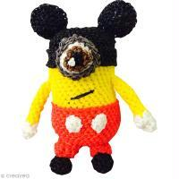 Inspiration Minion en Rainbow Loom (Mickey et Minnie)