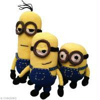Inspiration Minion au crochet