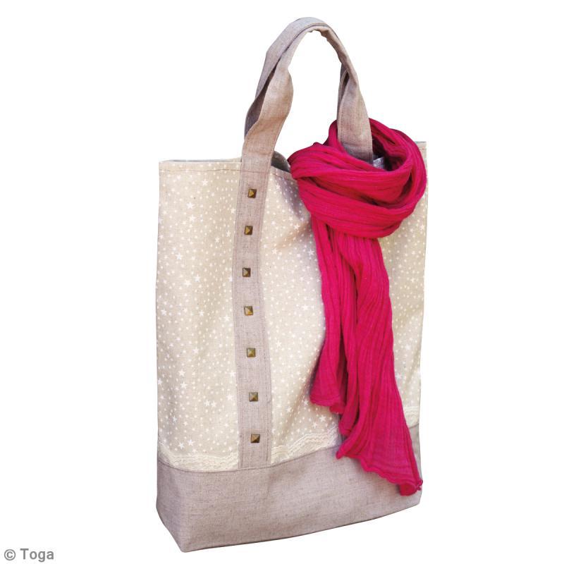 diy couture facile tote bag en lin id es conseils et tuto tutos et diy couture facile d butant. Black Bedroom Furniture Sets. Home Design Ideas