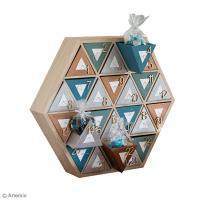 Calendrier de l'avent Hexagonal