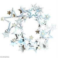 DIY Couronne de Noël étoile
