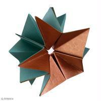 DIY Noël Origami étoiles de neige en papier